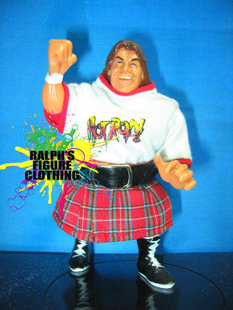 Hasbro Roddy Piper Hot Rod Shirt and Kilt