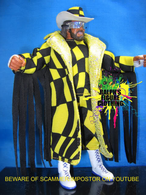 Randy Savage Abstract Yellow Outfit