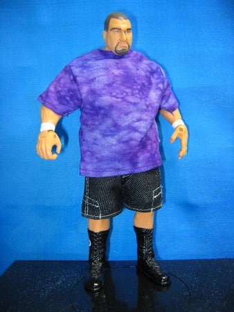 Bubba Ray Dudley Blue Shirt and Shorts