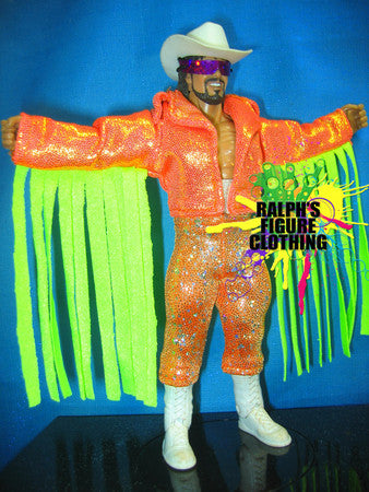 Randy Savage Orange Jacket