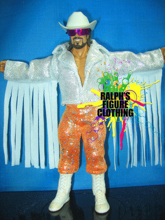 Randy Savage White Jacket