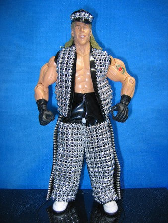 Shawn Michaels Black Vest, Chaps, and Hat B