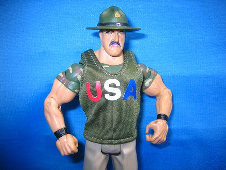 Sgt. Slaughter Army Green USA Tank