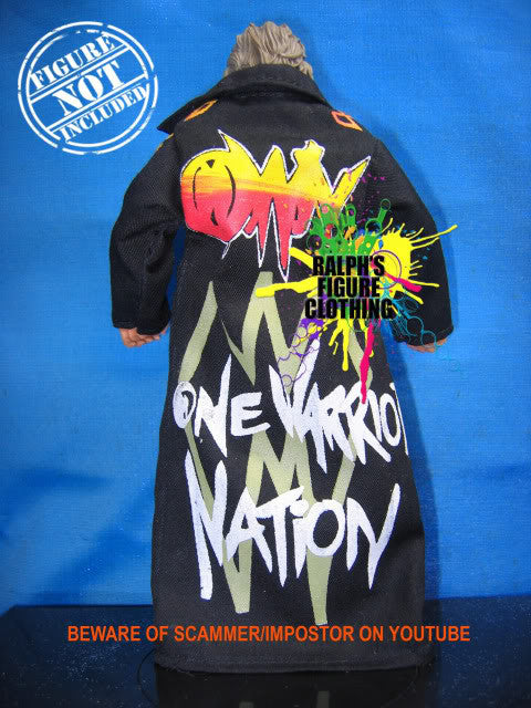 Ultimate Warrior Black Coat A