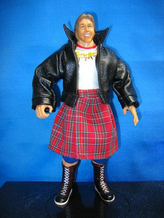 Roddy Piper Leather Jacket and Kilt