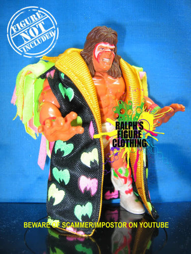 Ultimate Warrior Black Duster