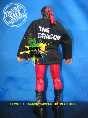 Ricky Steamboat Black Gi