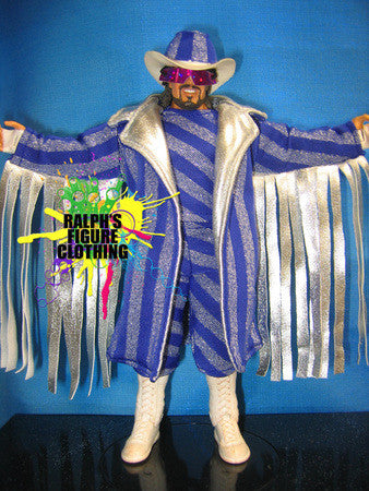 Randy Savage Purple Outfit