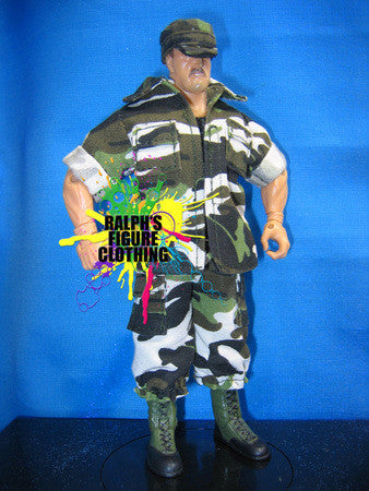 Sgt. Slaughter Army Jacket, Pants, and Cap