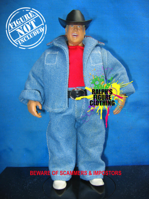 Dusty Rhodes Shirt, Jacket, and Pants
