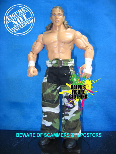 Shawn Michaels Camo Pants