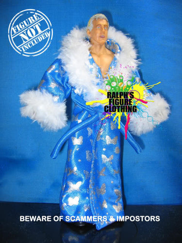 Ric Flair Light Blue Robe A