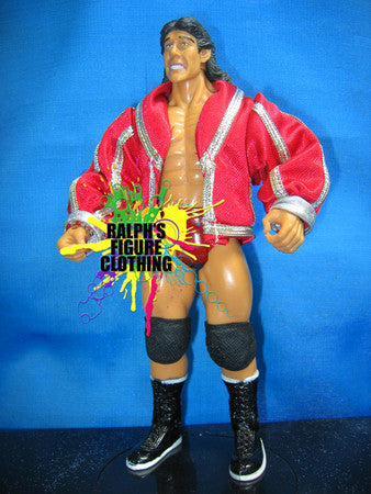Tito Santana Red Entrance Jacket