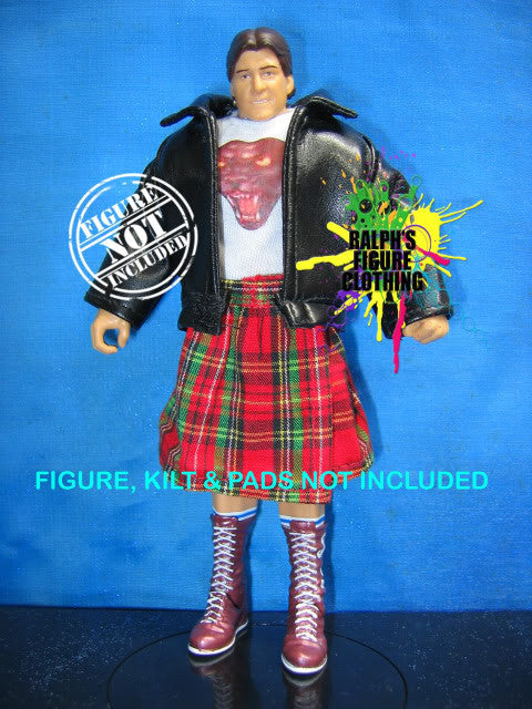 Roddy Piper Panther Shirt and Leather Jacket