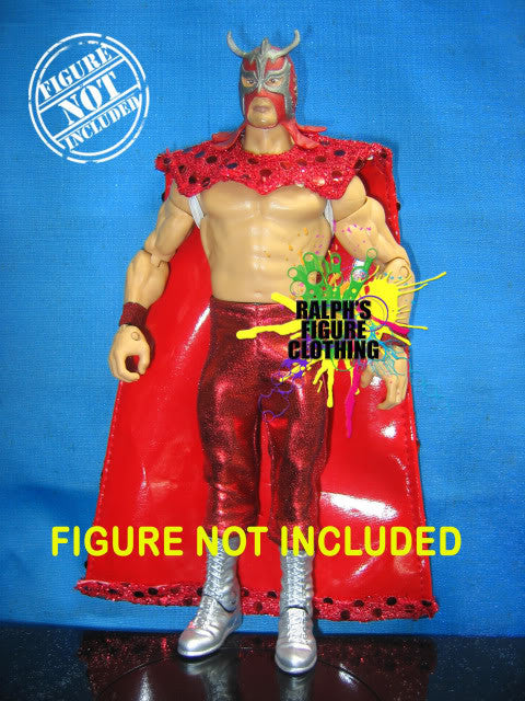Ultimo Dragon Red Cape