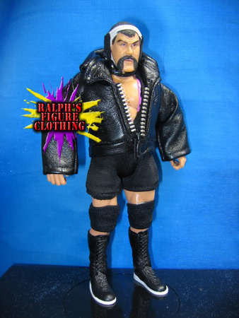Rick Steiner Black Singlet and Jacket