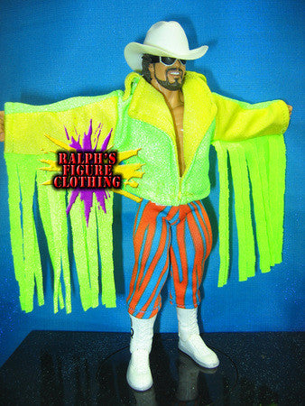 Randy Savage Green and Yellow Jacket