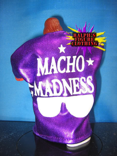 Hasbro Randy Savage Purple Robe