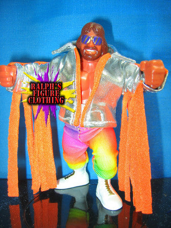 Hasbro Randy Savage Silver Jacket