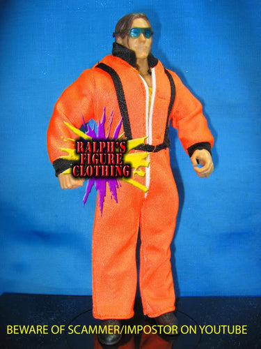 Paul London Orange Space Suit Overalls