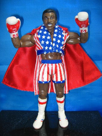 Apollo Creed USA Jacket with Cape