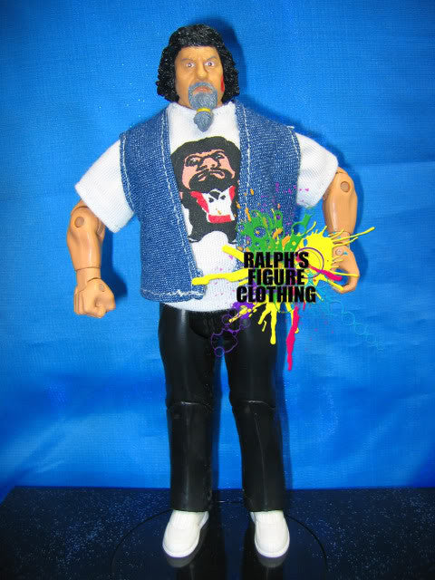 Capt. Lou Albano Shirt and Vest