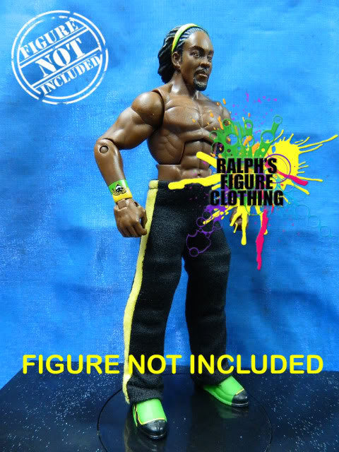 Kofi Kingston Black Pants