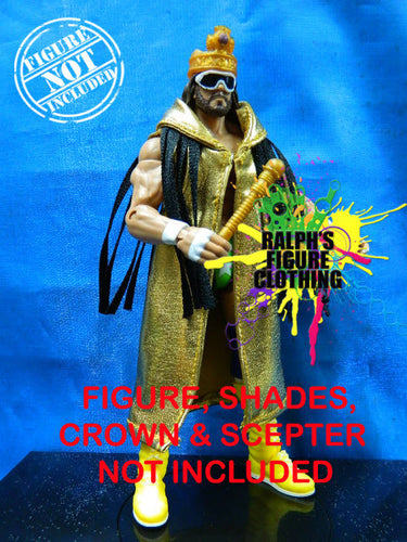 Randy Savage Gold Duster