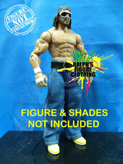 Randy Savage Blue Denim Jeans