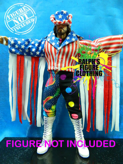 Randy Savage USA Jacket, Shirt, and Tights