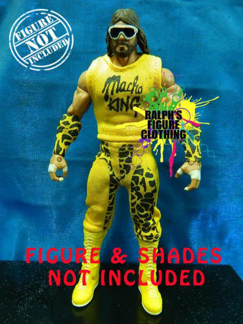 Randy Savage Yellow Outfit
