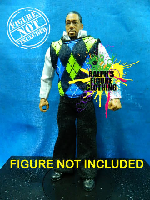 David Otunga Shirt, Vest, and Pants