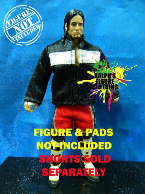 CM Punk Black Jacket with White Stripe