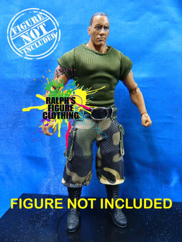 The Rock G.I. Joe Camo Gear v2