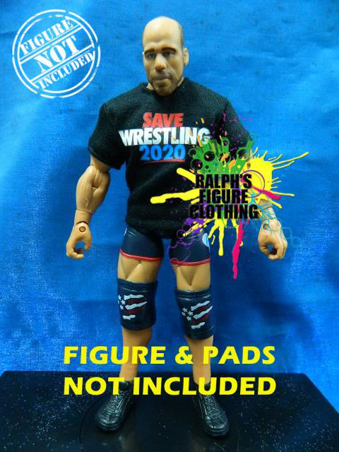 Kurt Angle Black Shirt