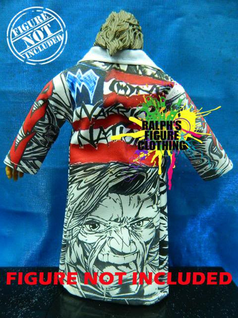 Ultimate Warrior White Coat A