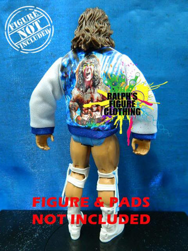 Ultimate Warrior White Jacket
