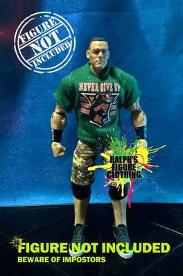John Cena Never Give Up Shirt E