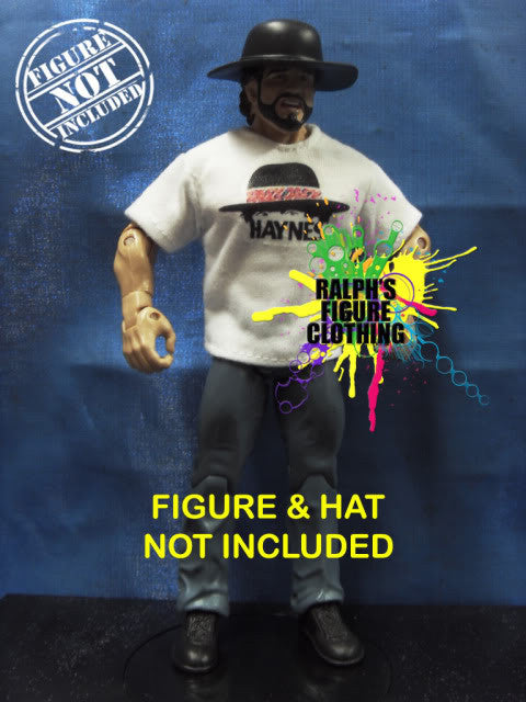 Billy Jack Haynes White Shirt