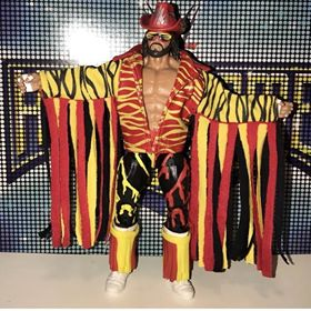 Randy Savage Red and Yellow Jacket