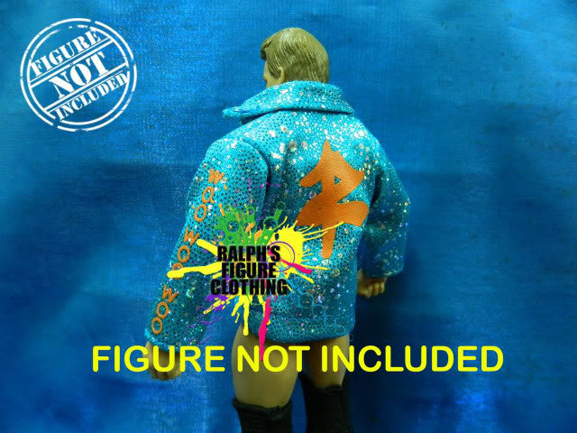 Zack Ryder Blue Jacket