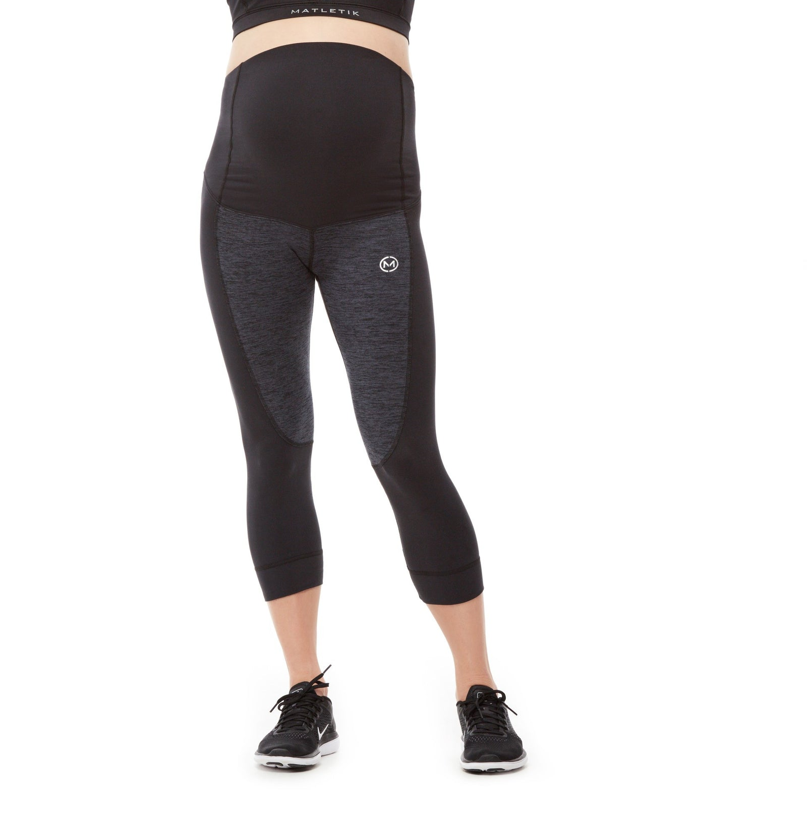 FLEX LEGGING - Active 7/8 with fold over panel