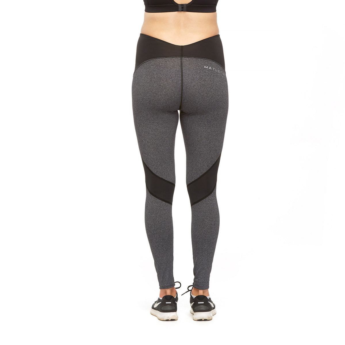 COURAGE LEGGING - Active full length with fold over panel