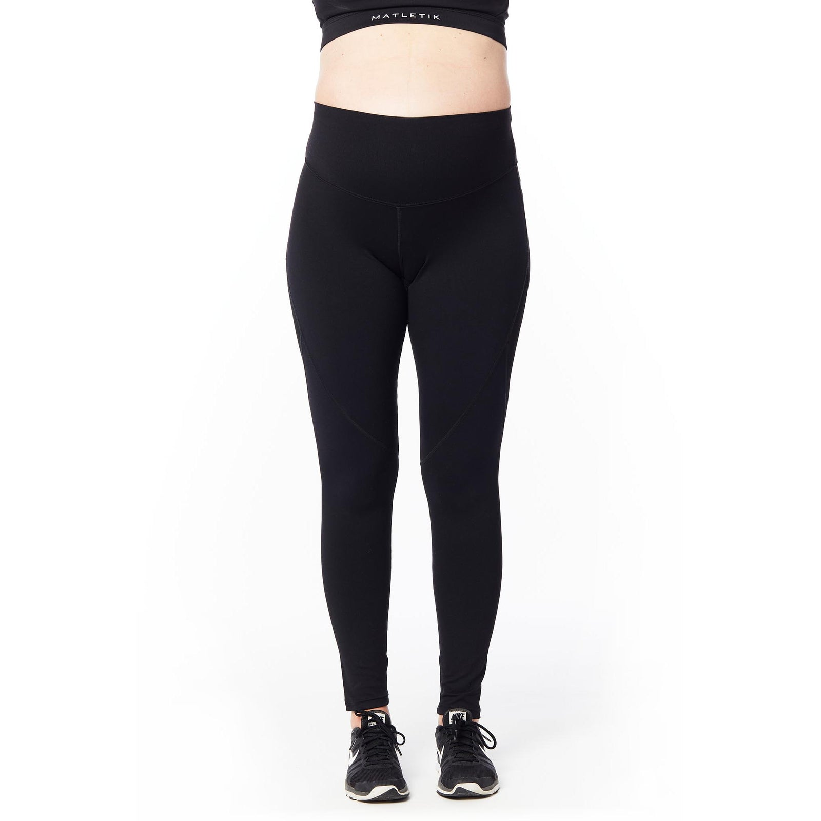 BRAVE Full length legging with mid waist panel