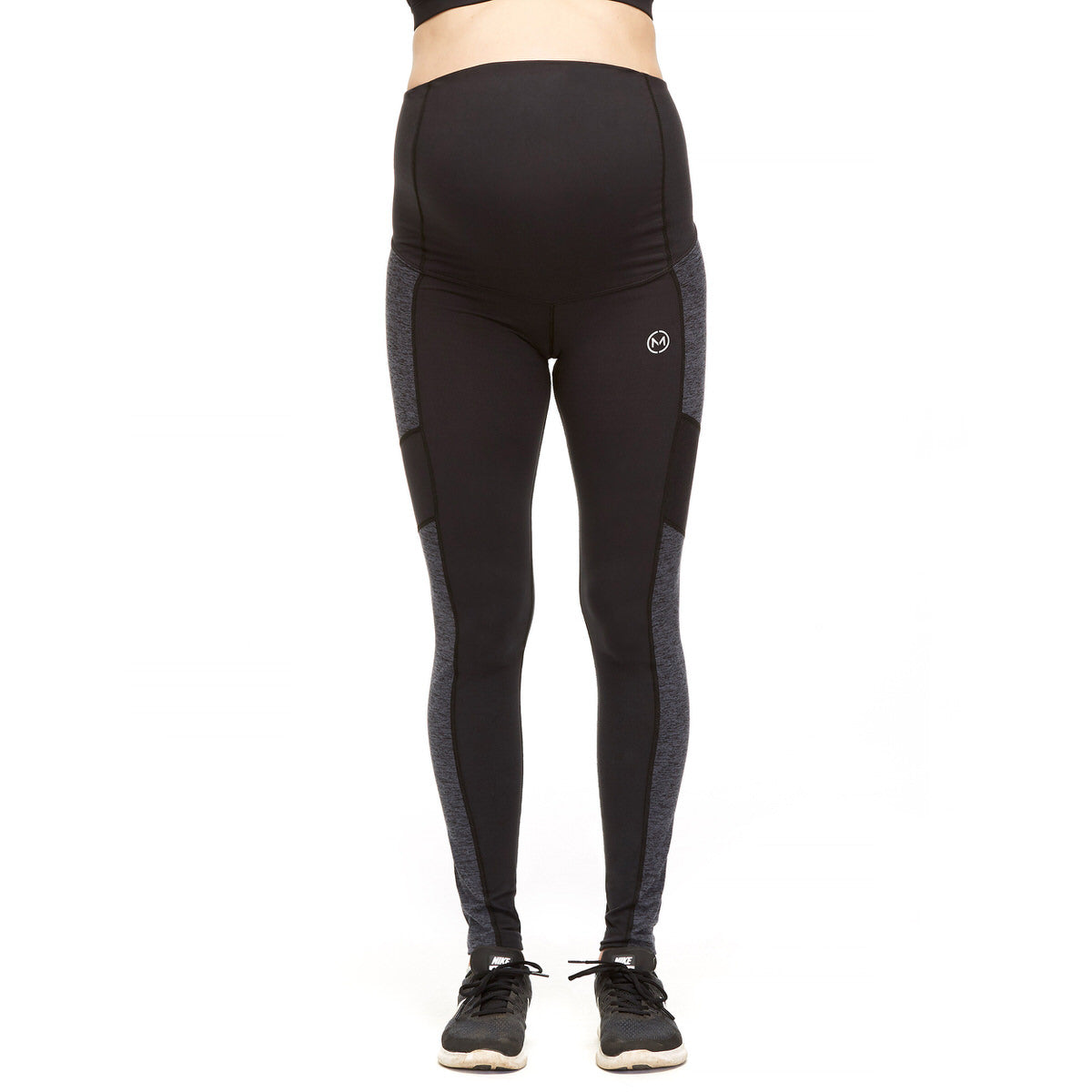 DELUX LEGGING - Active full length with fold over panel