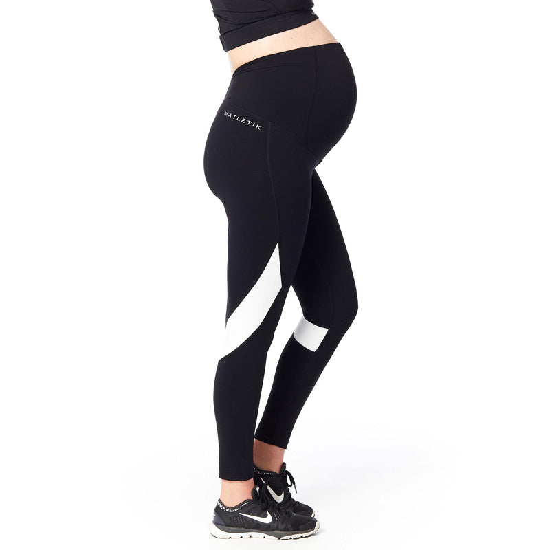 COURAGE Ankle length legging with fold over panel