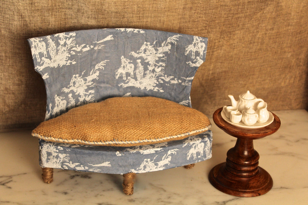 Sofa: Blue Belle