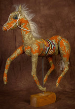 Rust  Toile Mustang * Large