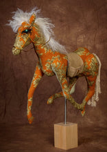 Rust Toile Mustang * small