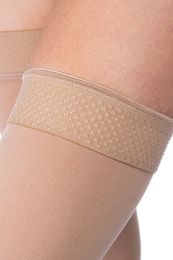 JOBST Relief Stockings Thigh Length 15-20 mmHg Regular Closed Toe - SmartFeetStore.com